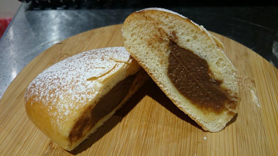 チョコカスタードクリームパン