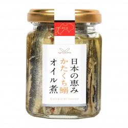 日本の恵みかたくち鰯オイル煮