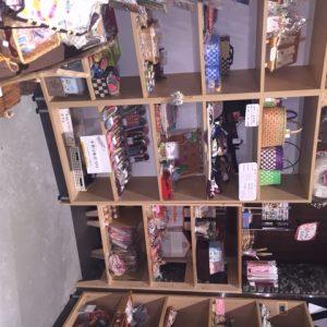 アゴラマルシェの手作り雑貨コーナー