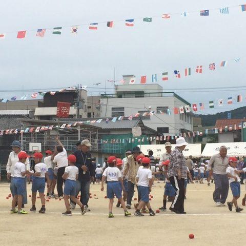 白浜小学校の運動会