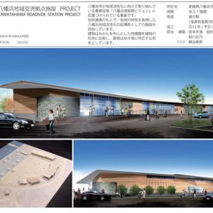 建築ジャーナル2012年4月号に民設民営施設としてのアゴラマルシェが紹介されました
