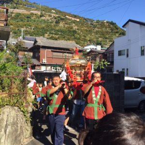 ミカンの町の秋祭り