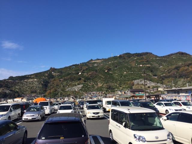 12月20日の駐車場