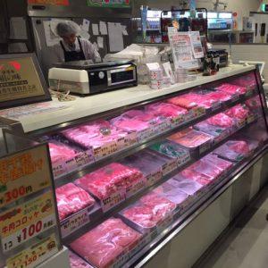 アゴラマルシェのお肉コーナー