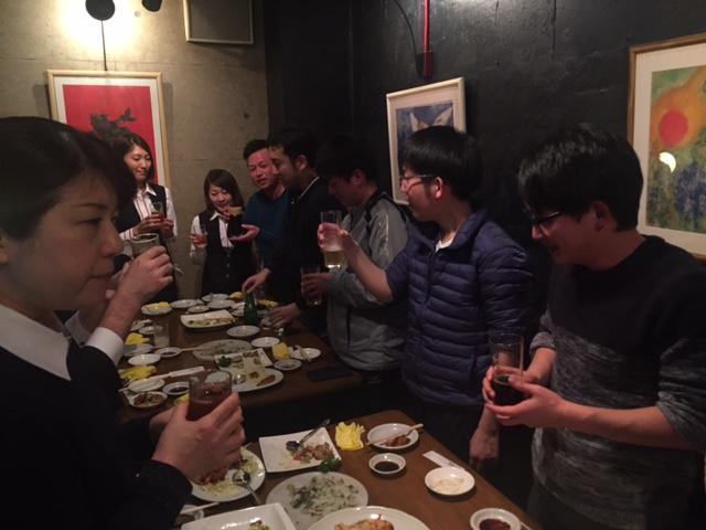 駅伝カーニバル打ち上げ