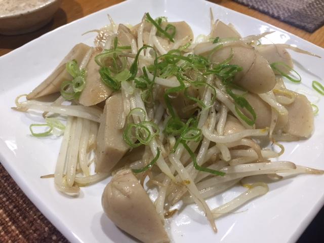 魚肉ソーセージを使った料理