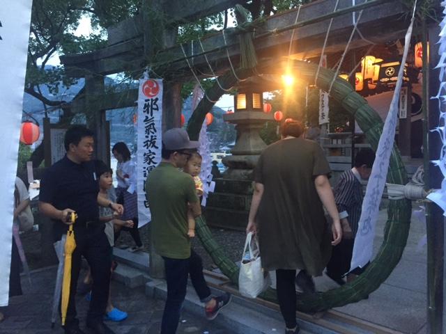 八幡神社輪抜けの画像4