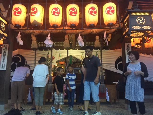 八幡神社輪抜けの画像5