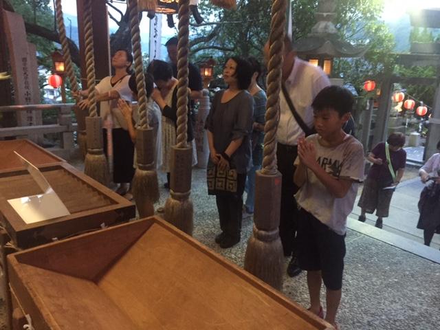八幡神社輪抜けの画像1