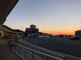 アゴラの夕焼け1