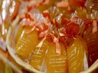 完熟小玉みかんジュースで作ったみかんゼリーはお土産にも大人気!