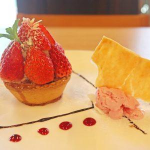 カフェシュシュの産直苺をふんだんに使用した「Strawberry Sweets」