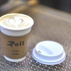 【Roll Crepe Coffee】カフェラテ、キャラメルラテ 新しいドリンクメニューが増えました