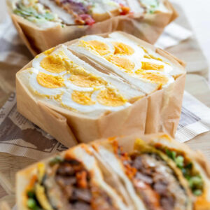 カフェ・シュシュのサンドイッチがリニューアル!